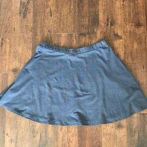 Dresses & Skirts - Gray mini skirt